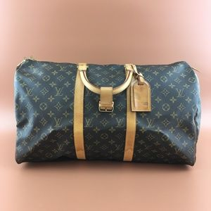 Preowned Louis Vuitton Keepall 50 Monogram Canvas